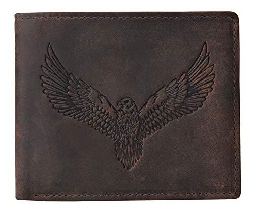 Urban Forest Zeus Vintage Brown RFID Blocking Leather Wallet for Men