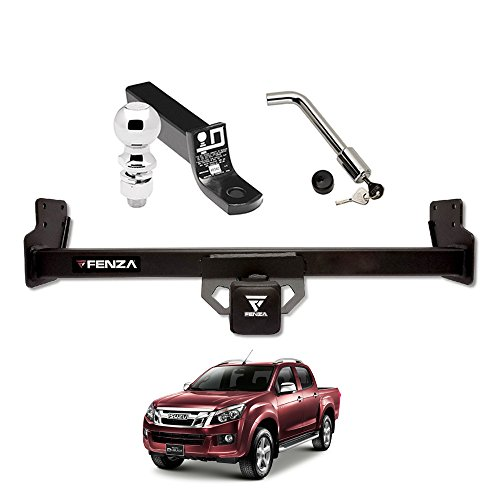 Towing Kit (Frame Receiver + Ball Mount + Pin Lock) for 2012-2018 Isuzu D-Max by Draw-Tite