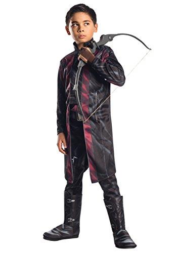 Rubie's Costume Avengers 2 Age of Ultron Child's Deluxe Hawkeye Costume, Small - Avengers Age Of Ultron Hawkeye