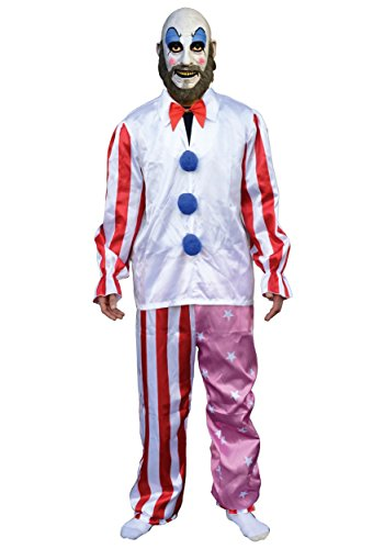 Trick or Treat Studios Men's House Of 1 000 Corpes-Captain Spaulding Costume, Multi, One Size -