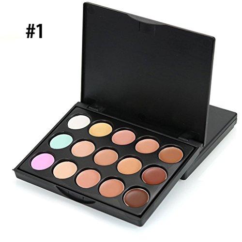 CMrtew CMrtew Eyeshadow MIni 15 Colors, Face Concealer Camou