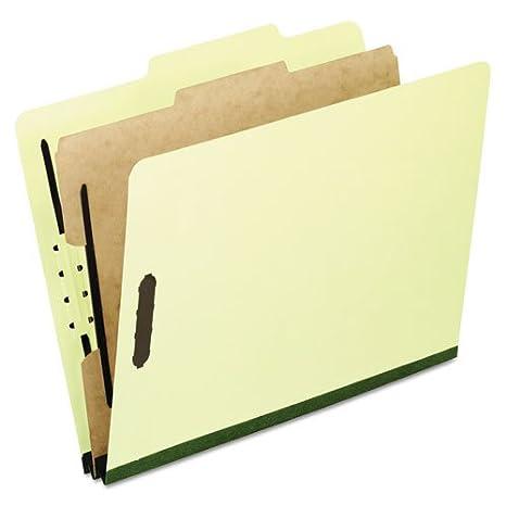 4COU * Carpetas clasificadoras de Tablero prensado, Letras ...
