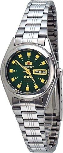 Orient #BNQ1X003F Women's Tri Star Dark Green Dial Automatic Watch