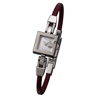16324f2a2cc GUCCI 102 G-Mini Series Ladies Watch YA102503 Wrist Watch (Wristwatch)   Amazon.co.uk  Watches