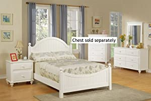 4pcs Full Size Bedroom Set Cape Cod Style