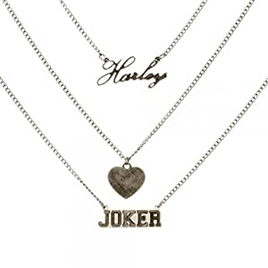 Dc comics suicide squad harley quinn and joker for Harley quinn and joker jewelry