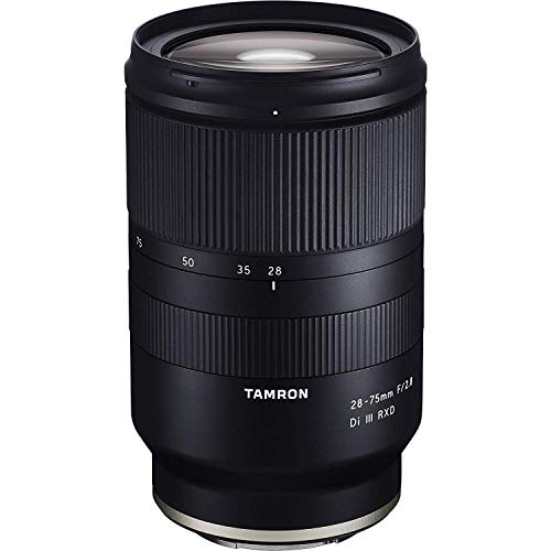 Tamron 28-75mm F/2.8 for Sony Mirrorless Full Frame E Mount