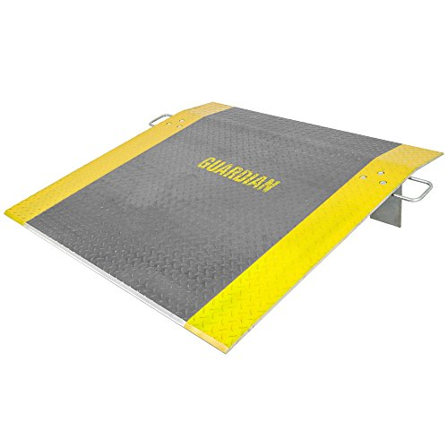 Rage Powersports  ADP-4848-3800 48 inch x 48 inch  Aluminum Pallet Jack Loading Dock Plates by Guardian