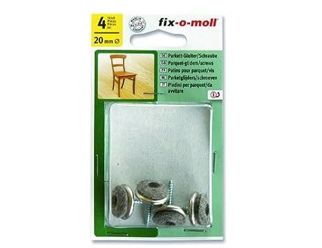 Suki Deslizadores de fieltro//tornillo de lana para suelo suave sensibles Beige 24 piezas