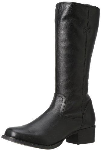 Durango Femme Charlotte 12 Pouces Zip Latéral Boot Noir
