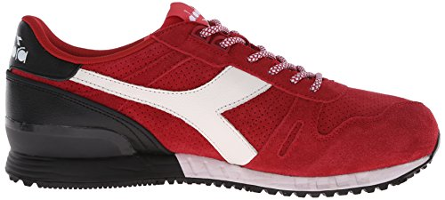 Diadora Shoe Chili Suede Titan Pepper Running Fashion Men's Red qqBw1