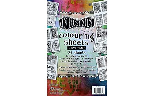 Ranger RGRDYA.55433 Dylusions Colouring Sheets 3 -
