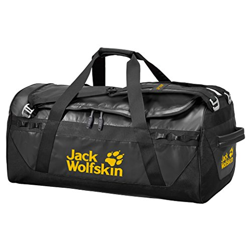 Jack Wolfskin Expedition Duffel 130 Bag, Black, One Size Review