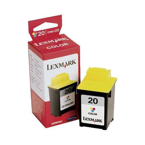 Lexmark #20 Twin Pack Color Print Cartridge (15m0120 Lexmark Inkjet Color)