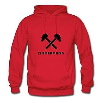 Women Zimmermann Red Customizable Chic Cool Sweatshirts Shirts X-large