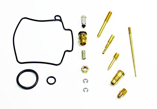 Outlaw Racing OR2480 Carburetor Carb Complete Master Repair Rebuild Kit Kawasaki KX125 03-05