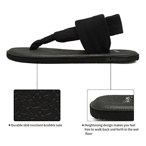 1c50f8aa897b60 CIOR Women Yoga Sandals Flip Flop mat Sling Back Meditation Shoes Studio  Outdoor
