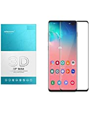 Glass Screen Protector By Nillkin 3D CP Plus Max For Samsung Galaxy S10 Plus, Black