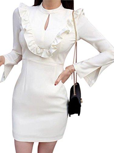 erdbeerloft - Vestido - Estuche - Semitransparente - para mujer