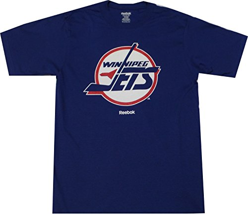 Winnipeg Jets Reebok Throwback Vintage T Shirt (XXL) (Jersey Throwback Jets)