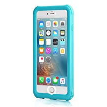 Meritcase Upgraded iPhone 6/6s Waterproof Case(4.7 Inch) 6.6ft Underwater Waterproof with Full Protection and Vehicle-Mounted Design (Blue)