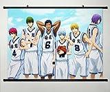 Wall Scroll Poster Fabric Painting For Anime Kuroko no Basket Key Roles 090