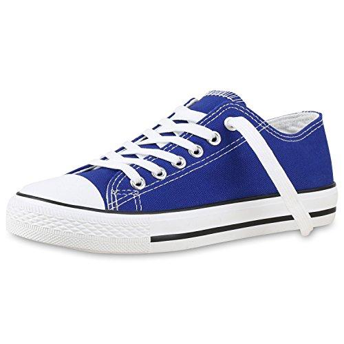 Low Blau Übergrößen Unisex Sneaker Herren Damen VITA SCARPE OFvBZZ