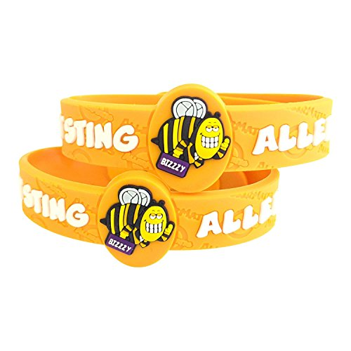 Bee Allergy Bracelet, Kids