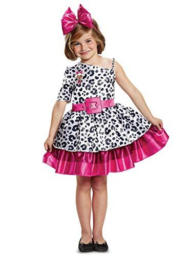 LOL Dolls L.O.L. Dolls Diva Classic Children's Small Halloween Costume - Girls Small S (4-6x)