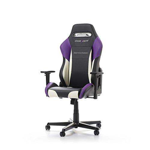 DXRacer DM61 Drift Series Racing Bucket Seat Office Chair Gaming Ergonomic  With Lumbar Support (Black