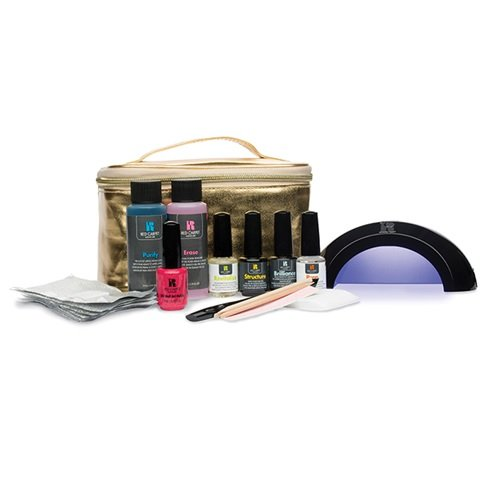 Red Carper Manicure Pro Starter kit with Gold Lamp (Red Carpet Gel Remover compare prices)