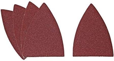 10 hojas de lija grano 180 52 mm para Fein Multimaster Multi Tool Herramienta multifunci/ón