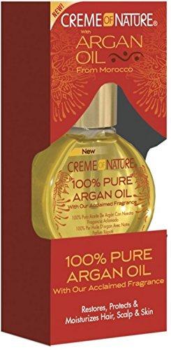Creme of Nature 100% Pure Argan Oil 1 oz (Pack of 4)