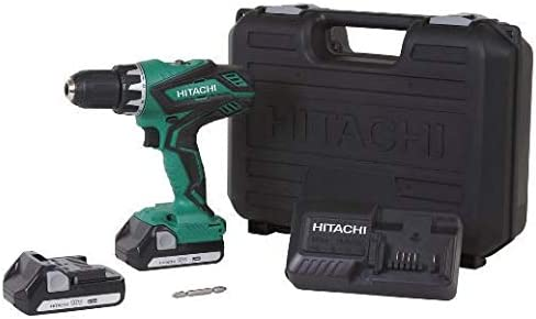 Hitachi DS18DGL 18V 1.3 Ah Cordless Lithium-Ion 1 2 in. Drill Driver Renewed