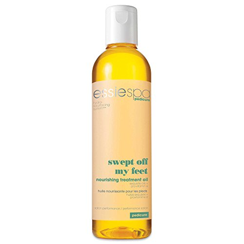 Spa Pedicure Swept Off My Feet 8.4 oz. Leg and Foot Massage Oil (Pedicure Massage Oil)