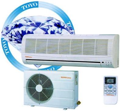 Amazon Com 9000btu 26 Seer Toyo Digital Hybrid Dc Inverter Ductless Mini Single Zone Split Air Conditioner With Heat Pump Or Mini Central Single Split Air Conditioning With Heat Pump Or Single Split