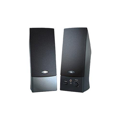 Cyber acoustics - ca-2016wb - oem black 2pc 3w speakersvol power headphone jack - Cyber Acoustics Mp3