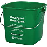San Jamar KP97GN Kleen-Pail Commercial Cleaning Bucket, 3 Quart, Green