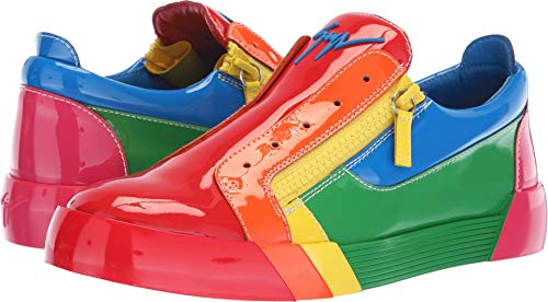 Giuseppe Zanotti Men's Foxy Sneaker Multi 41 M EU M for sale  Delivered anywhere in USA