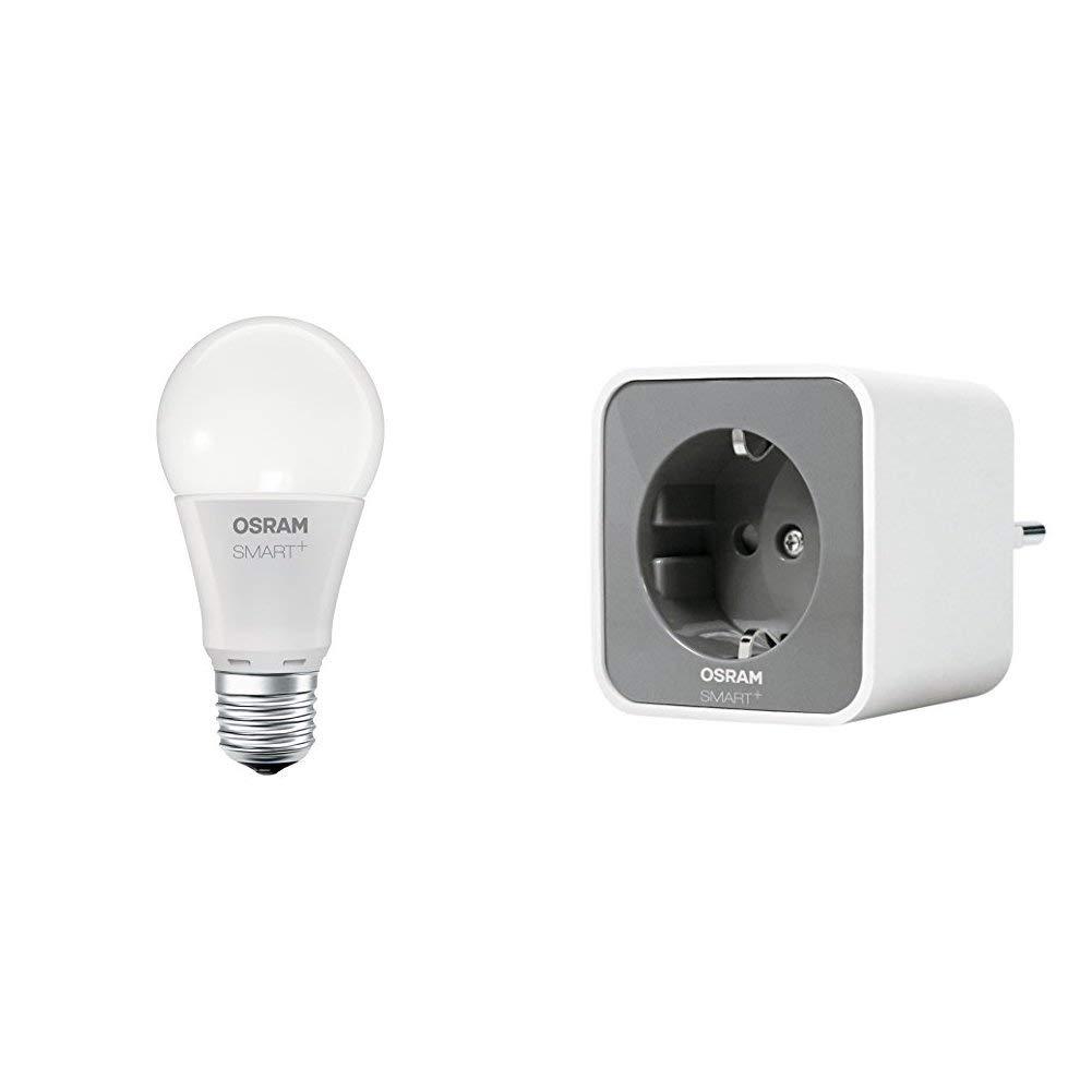 Osram Smart+ Outdoor Plug ZigBee schaltbare Steckdose (fernbedienbar, fü r die Lichtsteuerung in Ihrem Smart Home, Direkt kompatibel mit Echo Plus - Ansonsten zusä tzliches Gateway nö tig) Ledvance 4058075051058