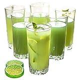Cheap Pasabahce Karat Waterglasses / 14.5 oz/Set of 6 / Glasses/Dishwasher Safe/Crystal Glasses
