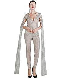 Amazon.com: Silver - Jumpsuits & Rompers / Jumpsuits, Rompers ...