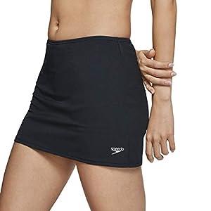 Speedo Women's Swimsuit Bottom Swim Skirt Bio Endurance Solid