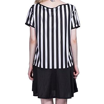 EraSpooky Women's Halloween Referee Costume