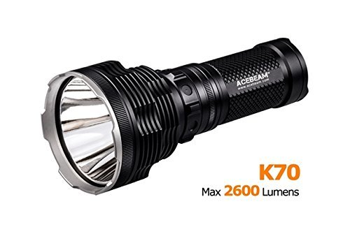 ACEBeam K70 CREE XHP35 Hi LED Flashlight Use 4x 18650 Battery 2600lumens Throw 1300meters by Acebeam (Image #4)