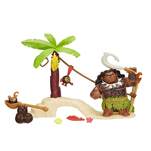Disney Moana Maui the Demigod's Kakamora Adventure