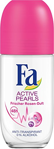 Fa Deo Roll-on Active Pearls, 6er Pack (6 x 50 ml)