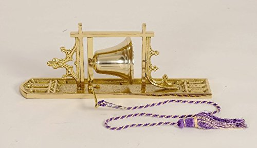 Traditional Wall Hung Sacristy Bell - Church Bell - Chalice (CCG-74b) by Classical Church Goods
