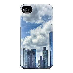 [jnRVmtR203KcFuM]premium Phone Case For Iphone 4/4s/ Skyscrapers On A Summer Day Hdr Tpu Case Cover