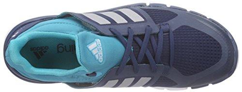 adidas Adipure 360.3 W, Zapatillas de Running para Mujer Azul / Plateado / Verde (Azumin / Plamat / Verimp)